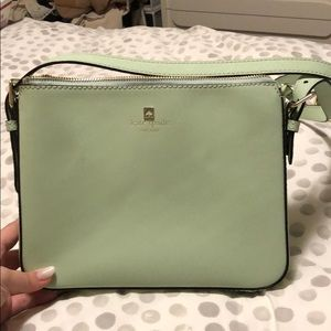 Brand new mint color Kate spade cross body